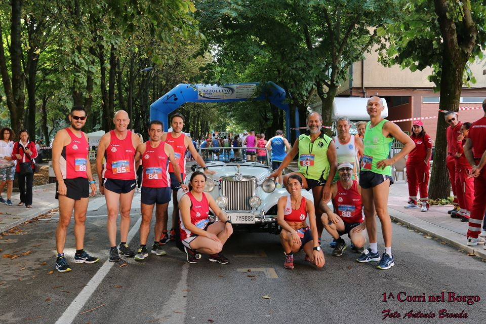1° CorriNelBorgo, successi per la Running Club